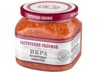 """Икра из молодых кабачков """"Ресторация Обломов"""" 1/6 420 гр."""