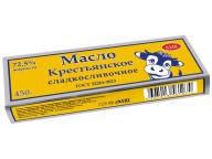 """Масло """"Крестьянское"""" 72,5% 450гр ТМ """"АМК"""" 1/10 БЗМЖ"""