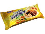 Рулеты мини абрикос Домашние 150 г 1/20