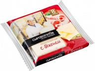 """Сыр плавленый """"С беконом"""" 45% 130г слайсы (8 ломтиков)"""