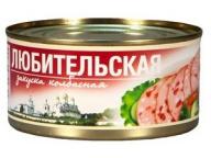 """Колбасная закуска """"Любительская"""" 325 г 1/24 ТУ ТМ Рузком"""