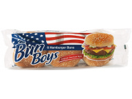 Булочки д/гамбургера с кунжутом Bun Boys 6*50 гр. 300 гр. 1/9