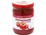 Кетчуп Соус Любительский острый с/б 500 1\6