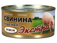 Свинина тушеная в/с ГОСТ Экстра 325 г 1/24 ТМ Рузком