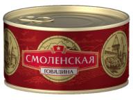 Говядина тушеная Смоленская КТК 325г 1/24
