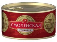 Свинина тушеная Смоленская КТК 325г 1/24