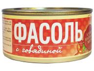 Фасоль с говядиной 325 г 1/24 ТУ ТМ Рузком