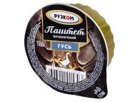 """Паштет печёночный """"Гусь"""" ламистер 100 г 1/20 Easy Open ГОСТ ТМ Рузком"""