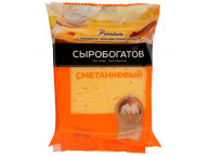 """Сметанковый 50% 200г ТМ """"Сыробогатов"""" 1/12"""