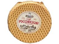 Сыр Российский ТУ 50% круг ~6кг /13кг