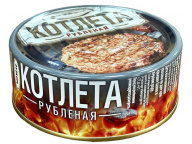 Котлета рубленая ГОСТ 250 г 1/24 ТМ Рузком