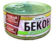 Бекон рубленый 325 г 1/24 ТМ Рузком