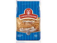 Макароны Спирали гр А 400гр 1/14
