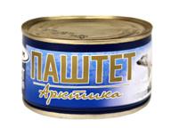 "Паштет ""Арктика"" 230 г 1/24 ГОСТ ТМ Рузком"