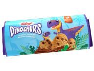 """Печенье сдобное ванильное с кусочками мол. шоколада Dinosaurs 120г ц/п 1/15 ТМ""""Kellogg"""""""