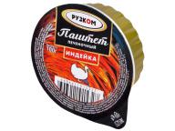 """Паштет печёночный """"Индейка"""" ламистер 100 г 1/20 Easy Open ГОСТ ТМ Рузком"""
