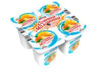 Продукт йогуртный АЛЬПЕНГУРТ сочный-молочный абрикос-манго 1,2% 95г 1/24