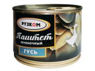 "Паштет ""Гусь"" 180 г 1/30 с/к ТУ ТМ Рузком"