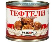 Тефтели в т/с 540 г 1/24 ТМ Рузком