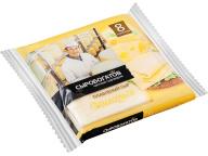 """Сыр плавленый """"Маасдам"""" 45% 130г слайсы (8 ломтиков)"""