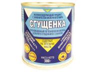 """Консервы молокосодержащие сгущённые СЗМЖ """"Сгущенка"""" с сахаром ж/б 380г 1/45"""
