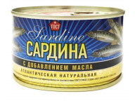 Сардина атл. НДМ КТК 240 гр 1/24