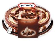Пирог шоколад со сливками Kovis 400 гр. 1/6