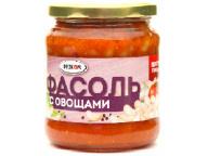 Фасоль с овощами 480гр 1/ 12 ТМ Рузком