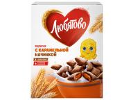 """Подушечки с карамельной начинкой 250г 1/9 ТМ""""Любятово"""""""