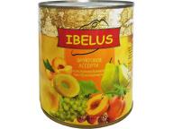 Ассорти фруктовое HELCOM 850 мл 1/12 ж/б