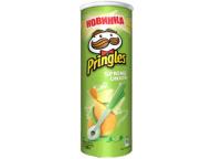 "Чипсы Зеленый лук 165г 1/19 ТМ""Pringles"""