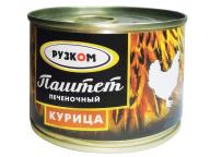 "Паштет ""Курица"" 180 г 1/30 с/к ТУ ТМ Рузком"