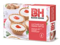 Тарты мини английские клубника/красная смородина Baker House 240г 1/8
