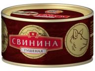 Свинина тушеная В/С ГОСТ КТК 325г 1/24