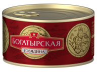 Говядина тушеная Богатырская КТК 325г 1/24