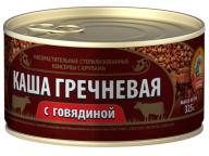 Каша гречневая с говядиной ГОСТ КТК 325г 1/24