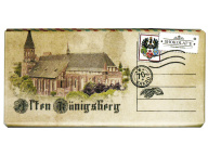 Шоколад горький 70% Alten Konigsberg Кафедральный собор 1/20 шт