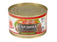 Сардина атл. в т/с с овощами За Родину 230гр 1/48