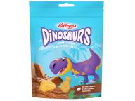 """Печенье сахарное МИНИ в молочной глазури 50г ц/п Dinosaurs 1/14 ТМ """"Kellogg"""""""