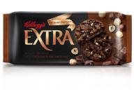 """Печенье сдобное """"EXTRA"""" с шоколадом и фундуком 75г ц/п 1/12 ТМ""""Kellogg"""""""