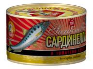 Сардинелла в т/с КТК 240 гр 1/24