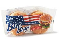 Булочки д/гамбургера с кунжутом Bun Boys MAXI 4*75 гр. 300 гр. 1/7