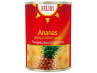 Ананасы кольца в сиропе HELIOS 580мл 1/24 ж/б