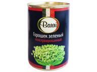Горошек зеленый консервированный Barri 400мл 1/10 ключ