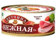 Ветчина Нежная из мяса птицы КТК 300 г 1/36 ключ