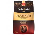 Кофе в зернах Ambassador Platinum, пакет, 750г.(*8)