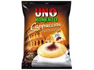 """Капучино быстрорастворимый """"UnoMomento"""" с шоколадной крошкой 25,5грх12штх16шоубоксов"""