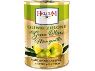 Оливки б/к фаршированные пастой из лимона HELCOM 300 гр 1/12