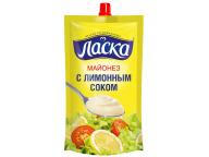 "М-з Ласка ""С лимонным соком"" 50% Д/П 280гр 1/16"