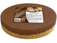 Вафельные коржи для торта двухцветные круглые 120г 1/20